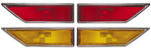 Cutlass Marker Light, 1970-72 Side Complete Set of 4