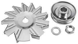 1961-72 GTO Alternator Fan & Pulley (Reproduction)