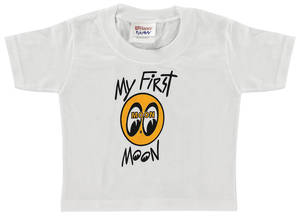 1961-1977 Cutlass Mooneyes Baby T-Shirt 12-Month, by Clay Smith