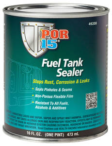 1963-76 Riviera POR 15 Fuel Tank Sealer 1-Pint