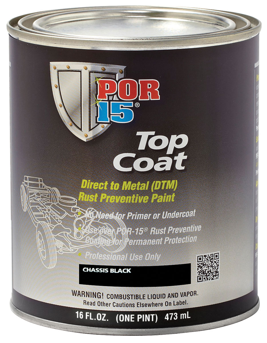 Photo of Chassis Coat Black 1-pint