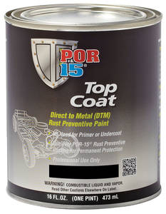 Top Coat 1-Pint, by POR-15