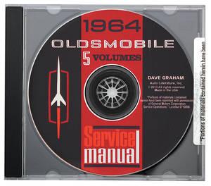 1964 Cutlass CD-ROM Factory Shop Manuals