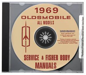 1969 Cutlass CD-ROM Factory Shop Manuals