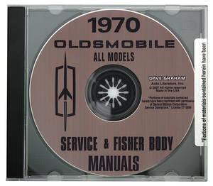 1970-1970 Cutlass CD-ROM Factory Shop Manuals