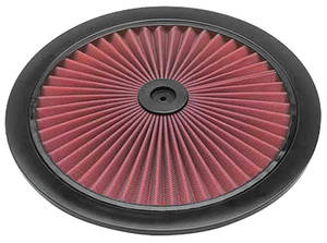 1959-77 Grand Prix Air Cleaner Element, X-Stream Top Only 14""