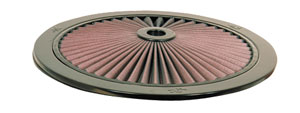 1959-77 Bonneville Air Cleaner Element, X-Stream Top Only 11""