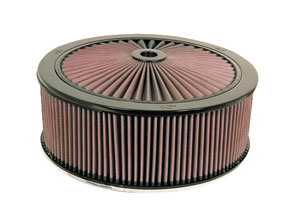 "1954-76 Cadillac Air Filter (X-Stream) Complete 14"" X 6-7/8"""