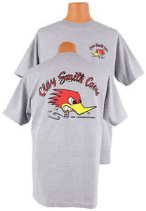 Clay Smith Cams Original T-Shirt Gray