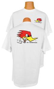 "Clay Smith ""Mr. Horsepower"" T-Shirt (White)"