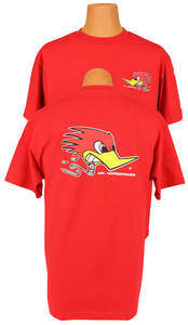"1961-1972 Skylark Clay Smith ""Mr. Horsepower"" T-Shirt Red"