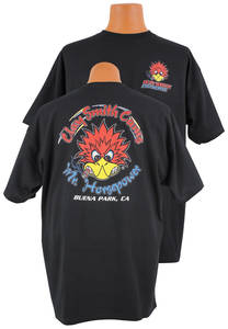 1978-1983 Malibu Horsepower with Attitude T-Shirt Black, by Clay Smith