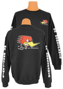 1961-74 LeMans Mr. Horsepower Sweatshirt Black, by Clay Smith