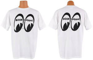 "Mooneyes ""Moon Equipped"" T-Shirt Med.-3XL"