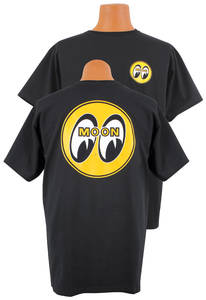 1964-1973 GTO Mooneyes T-Shirt Black, by Clay Smith