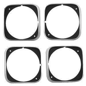Headlight Bezels, 1968 Cutlass/4-4-2 Set of 4