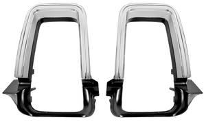1969-1969 Cutlass Tail Light Bezels, 1969 Cutlass, 4-4-2 V8, & H/O