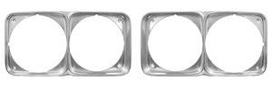 Headlight Bezels, 1971 Cutlass/4-4-2