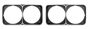 Headlight Bezels, 1972 Cutlass/4-4-2