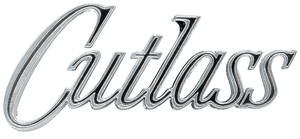"1970-1970 Cutlass Fender Emblem, 1970 ""Cutlass"", by RESTOPARTS"