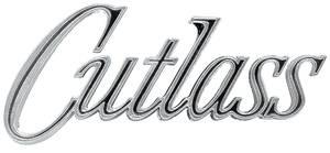 """Fender Emblem, 1970 """"Cutlass"""", by RESTOPARTS"""
