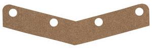 1969-70 Cutlass Hood Extension & Fender Cap Seal (All) Hood Edge Seal