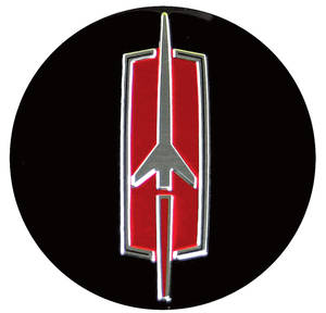 Cutlass Wheel Ornament Decal, 1966-72 Super Stock SS II