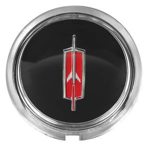 1970 Cutlass Steering Wheel Horn Button Emblem, Sport, by TRIM PARTS