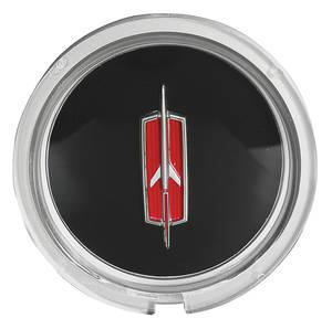 1971-1972 Cutlass Steering Wheel Horn Button Emblem, Sport, by TRIM PARTS