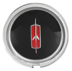 1971-72 Cutlass Steering Wheel Horn Button Emblem, Sport