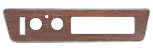 1972-1972 Cutlass 8-Track Faceplate