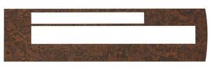 1969-1969 Cutlass Console Insert, Wood Grain Premium Automatic