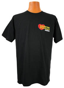 Hooker Headers Logo T-Shirt Black