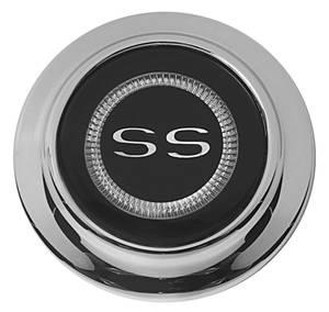"1967-1967 Chevelle Horn Center Cap, Reproduction ""Chevelle"" Deluxe SS Wheel"