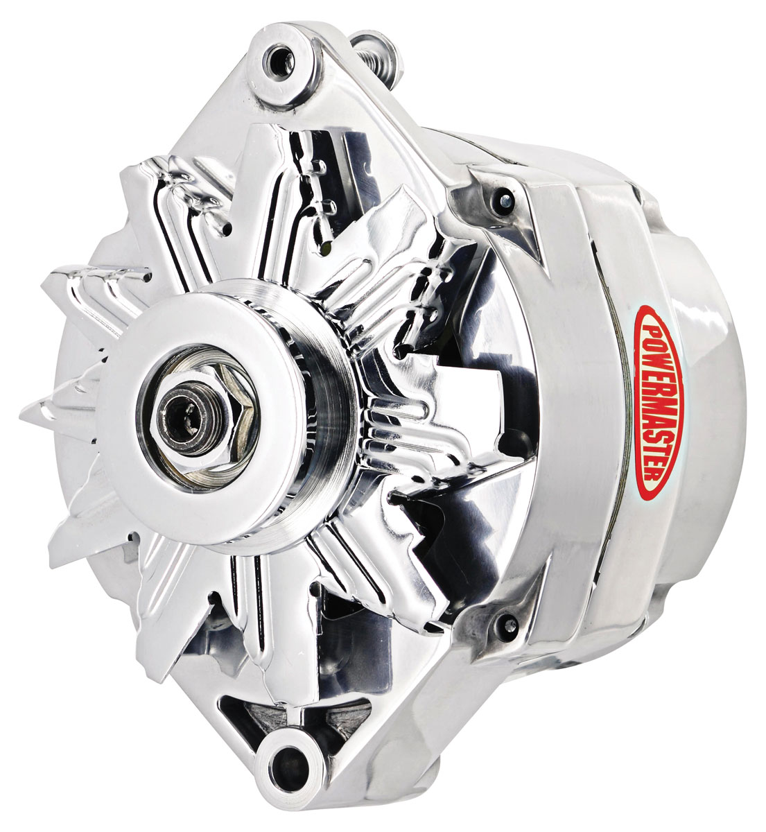 Photo of Alternator, Performance 12si (100-Amp, Internal Regulated) polished