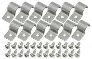 Line Clamps, Stainless Steel Single-Tube 1/2""
