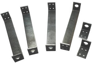1968-69 Hood Scoop Bracket Set, Cutlass/W-30/W-31 Lower – 6 Pieces