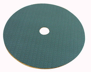 1961-68 Cutlass Spare Tire Board Aqua Houndstooth