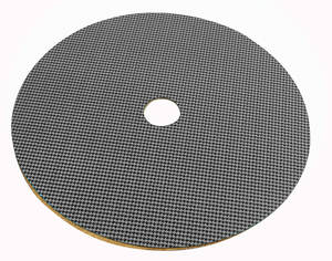 1961-68 Cutlass Spare Tire Board Gray Houndstooth
