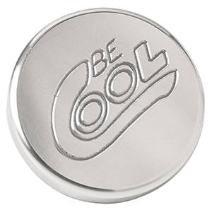 1965-1976 Bonneville Radiator Cap Round, by Be Cool