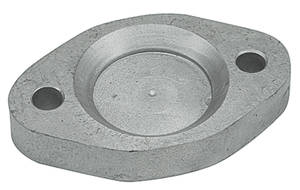 1964-72 Cutlass Exhaust Block-Off Plate, Oldsmobile