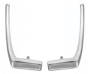1968-1969 Cutlass Vinyl Top Moldings, Cutlass/4-4-2/Hurst/Olds Rear, Cutlass/4-4-2