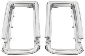 1966-1966 Cutlass Tail Light Bezels, 1966 Oldsmobile Cutlass/4-4-2