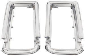 Cutlass/442 Tail Light Bezels, 1966 Oldsmobile Cutlass/4-4-2