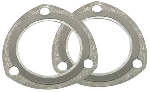 "1964-77 Chevelle Pressure Master Collector Gaskets 3"" Diameter"