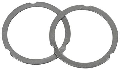 "1964-77 Chevelle Pressure Master Collector Gaskets 2-1/2"" Diameter Replacement Center, by Hooker"