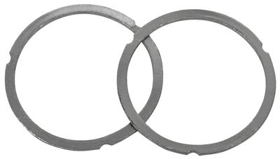 "1978-88 Malibu Exhaust Collector Gaskets, Pressure Master 3"" Diameter Replacement Center"