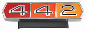 """Cutlass Grille Emblem, 1965 """"4-4-2"""""""