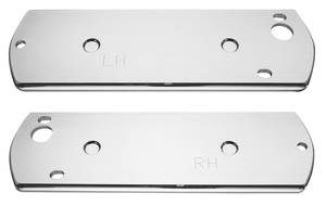 """1969-1970 Armrest Base Back Plate Front; Catalina, 4-dr. (Long, 18"""")"""