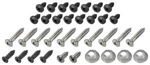 1968-1968 Cutlass Console Screw Kit 35-Piece